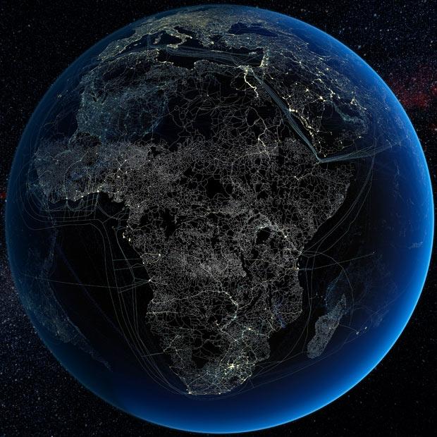 Africa-tech-footprint-at-night