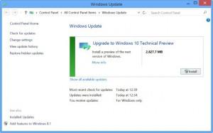 windows 1o update