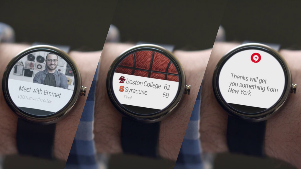 A closer look at Google's  smartwatches