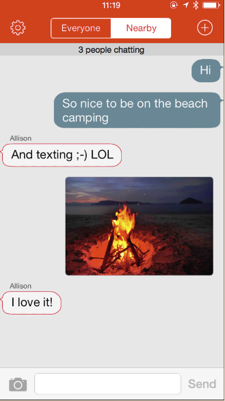 Firechat Enables Cross-Platform, Off-The-Grid Chat Between iOS And Android; learn more…