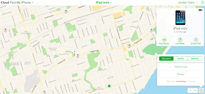In direct competition with Google, Apple brings its Maps to the web for Find my iPhone