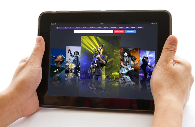 Yahoo Seeks to Bring the Concert to Your Couch