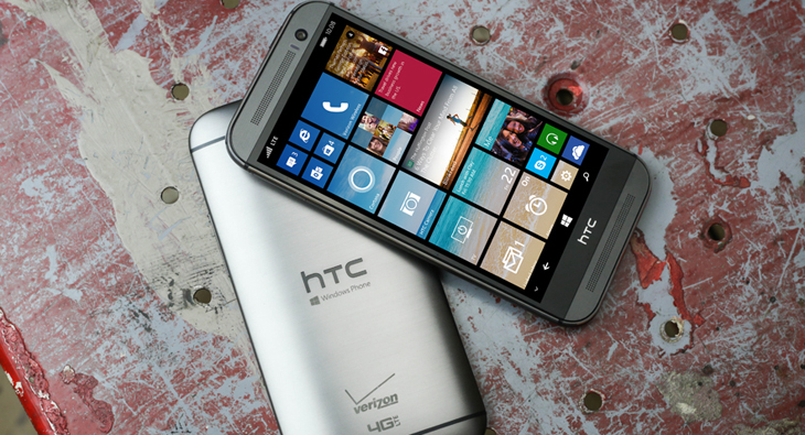 Here is the HTC One (M8) for Windows