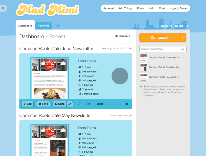 GoDaddy Acquires MailChimp Competitor Mad Mimi To Beef Up Its Email Marketing Service