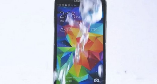 Samsung's Galaxy S5 Takes the Ice Bucket Plunge, Challenges Apple, HTC and Nokia Phones