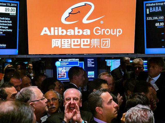 Alibaba Surges 38 Percent in Market Debut