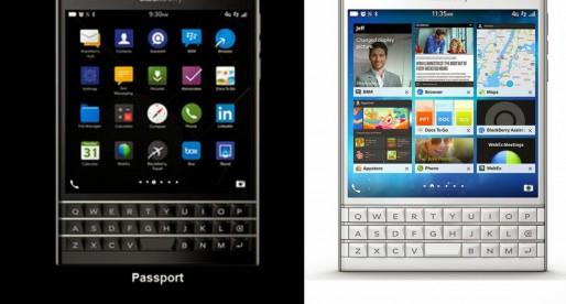 Behold the BlackBerry Passport
