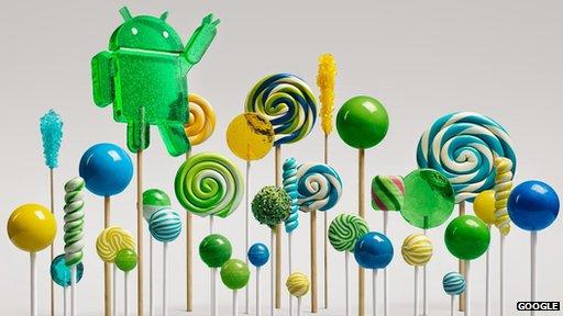 Google unveils Android Lollipop (version 5.0)