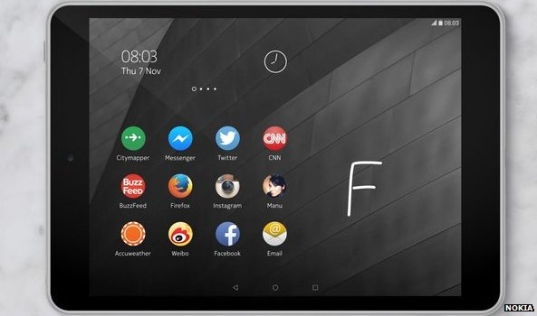 Say what? Nokia to launch an Android powered Tablet