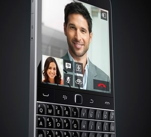 Here's the BlackBerry Classsic