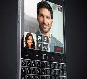Here's the BlackBerry Classsic