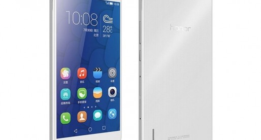Here's the Honor 6 Plus from Huawei and it looks like the iPhone 6 Plus