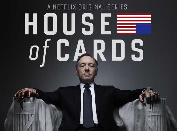 Season 3 of House of cards to premier in Feb 2015 on Netflix