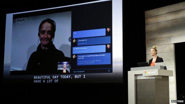 Real- time translating tool coming to Skype