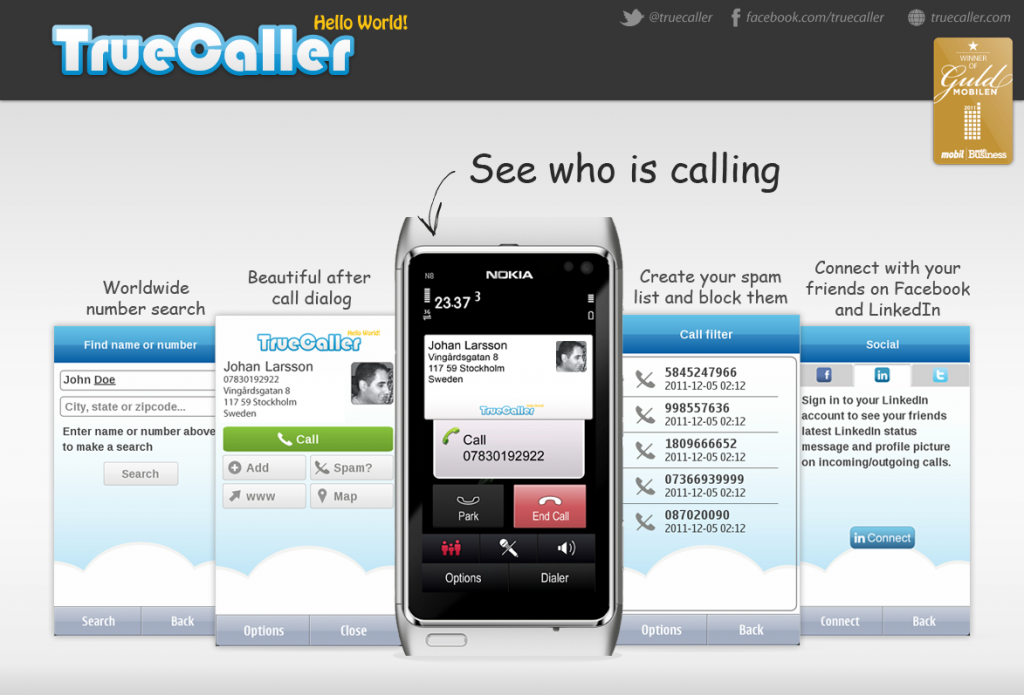 Truecaller now has over 100 million users plus see their new features here