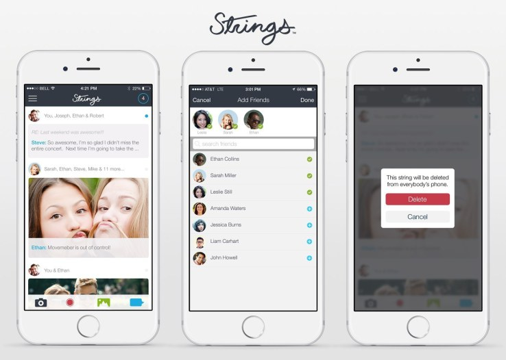 Strings Is A Messaging App That Will Let You Un-Text Someone‏