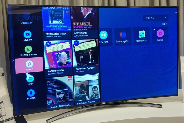 Samsung starts selling its Tizen run TVs on home soil