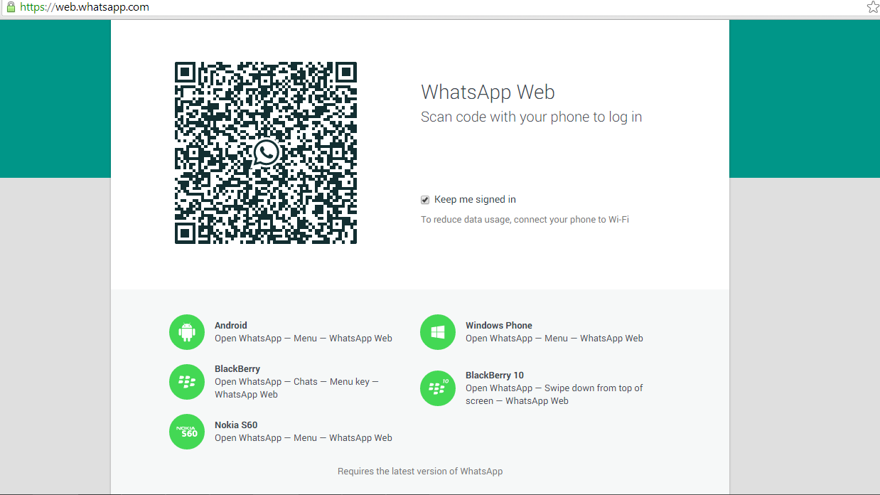 Having trouble with syncing your WhatsApp chats to the web? Here's how you can do that