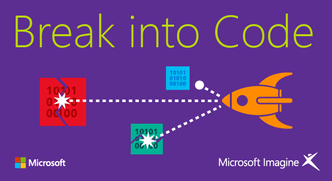 "Microsoft Invites Students To The ""Break Into Code"" Challenge"