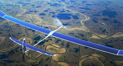 Facebook successfully tests its internet drone in the UK