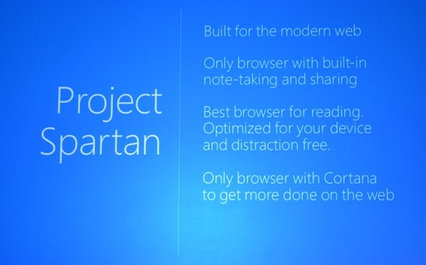 Remember Microsoft's Project Spartan? You can download the preview version here