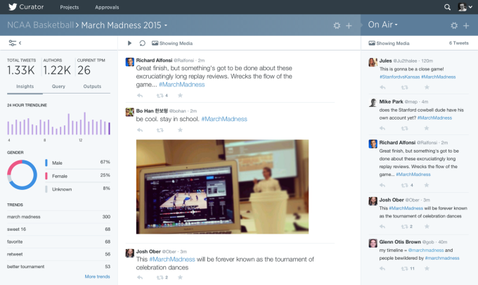 Twitter Launches Curator, A Real-Time Search And Filter Tool For Media Organisations