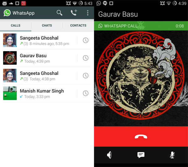 Finally, WhatsApp Voice Call Feature Comes To iOS