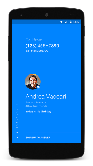 "This New ""Phone"" App From Facebook Is Already Being Called  a ""Caller ID"" Game Changer"