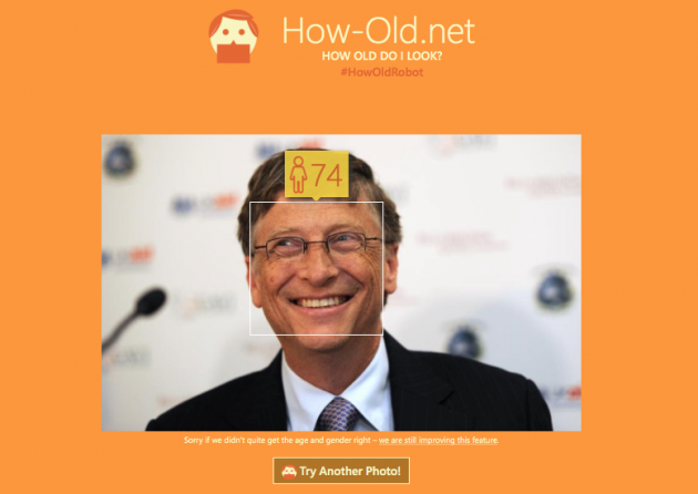 Microsoft's how-old.net Tells You How Old You Look
