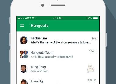 Google Hangouts For iOS Get A Facelift