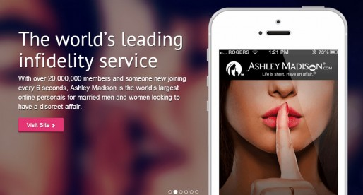 "Ashely Madison (""Cheating Website"") Has Its Users Data Exposed On The Web"