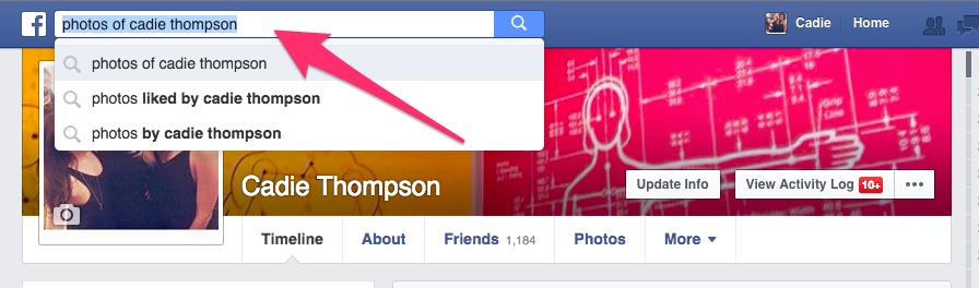 facebook search 0