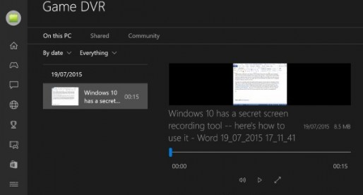 Windows 10 has a secret screen recording tool — here's how to use it – Beta News