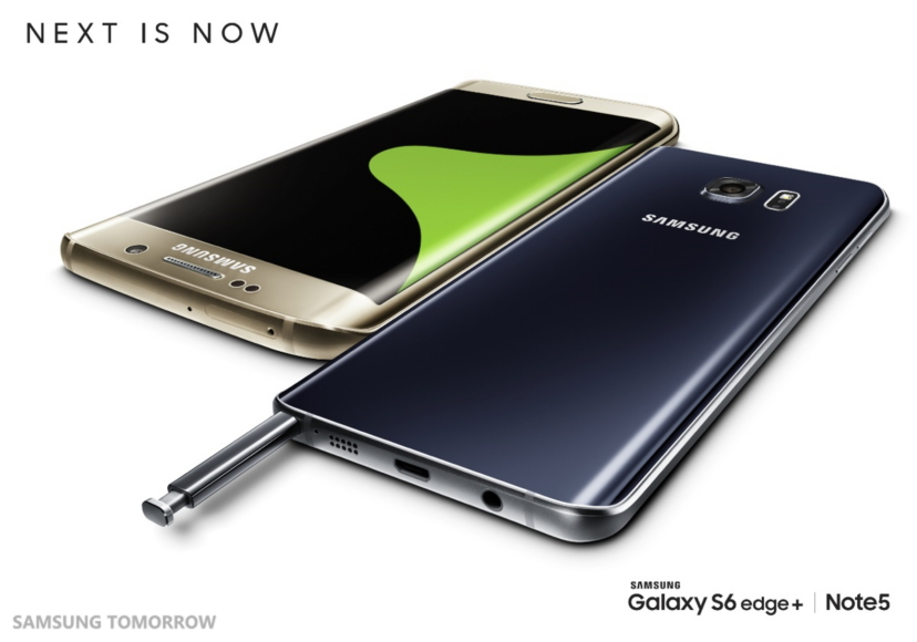 Samsung Announces Galaxy Note5 And Galaxy S6 edge+, Samsung Pay To Launch Next Week