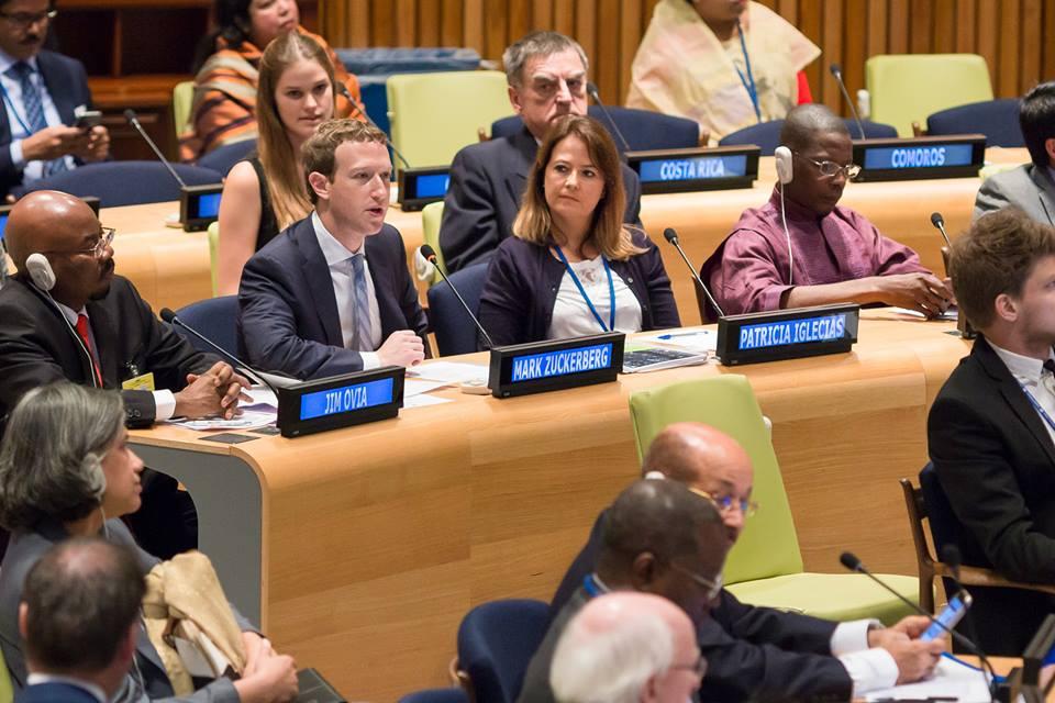 Mark Zuckerberg UN