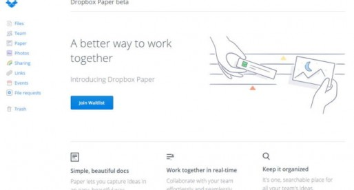 """An Insight Into This New Service From Dropbox; """"Paper"""""""