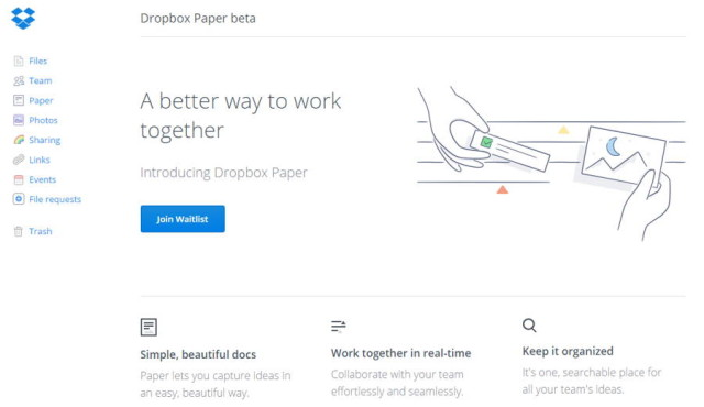 "An Insight Into This New Service From Dropbox; ""Paper"""