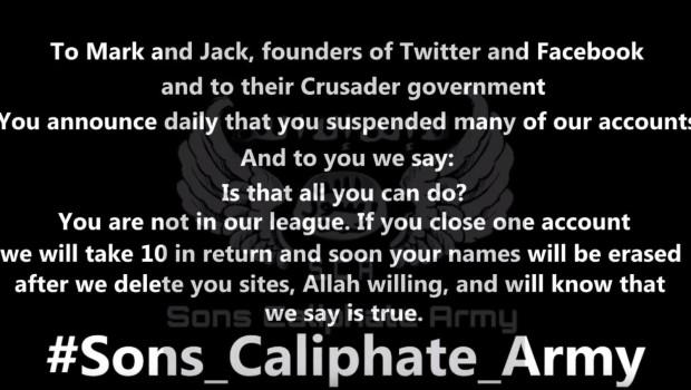 Twitter-Facebook ISIS threat