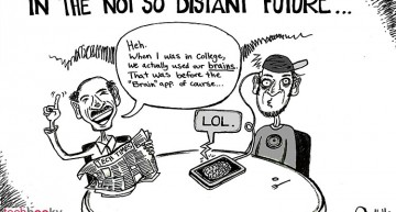 In the not so distant future (Tech'n'Toon)