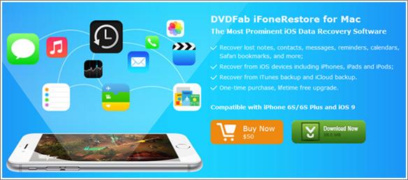 DVDFab iPhone storage