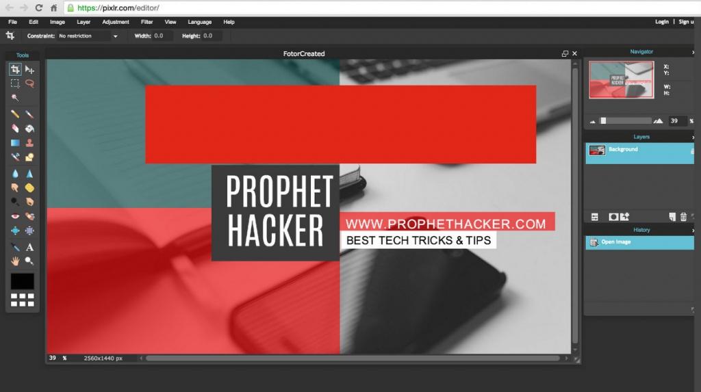 pixlr-photo-editor-online-tools- prophet hacker