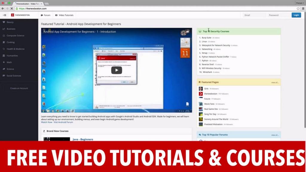thenewboston-free-video-tutorials-and-courses prophet hacker