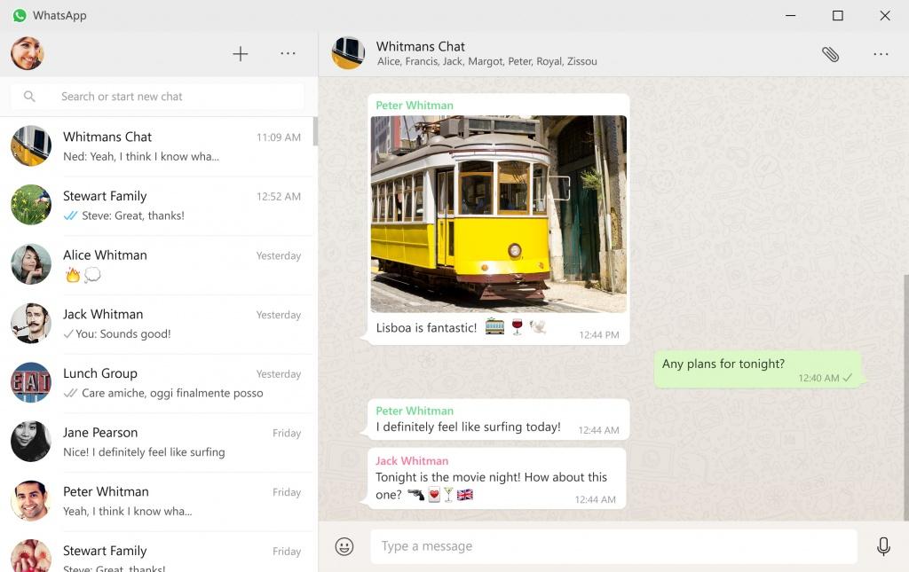 whatsapp native desktop app