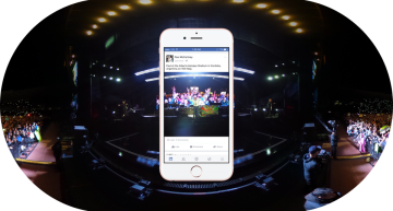 Facebook Brings 360-degrees View to Photos For Its iOS and Android App