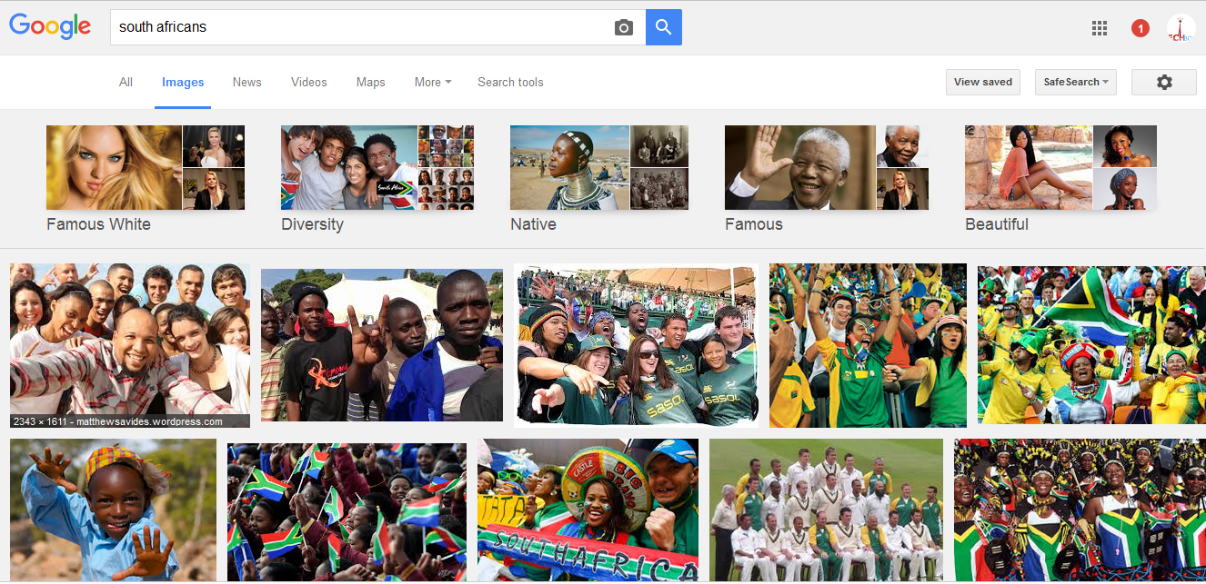 south africans google.com search