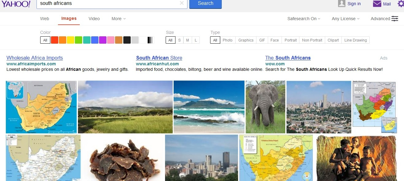 south africans yahoo.com search