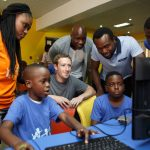 Mark Zuckerberg Is In Lagos Nigeria  Right Now