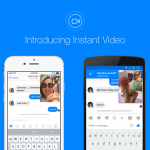 Facebook Announces Instant Video In Its Messenger App To Take On The Likes Of Google Duo and Snapchat.