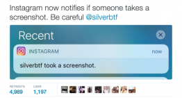 Instagram Now Lets You Know When Someone Takes A Snapshot Of Your Photo