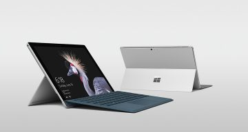 The new Surface Pro comes in Platinum, Burgundy and Cobalt Blue colours